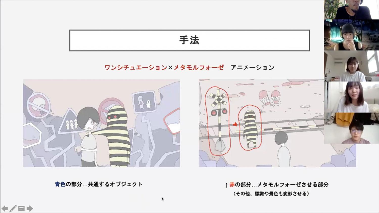 2年前期 短編アニメーション制作 【映像制作演習2】